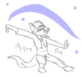 Zack The AquaFox by zackcdlvi