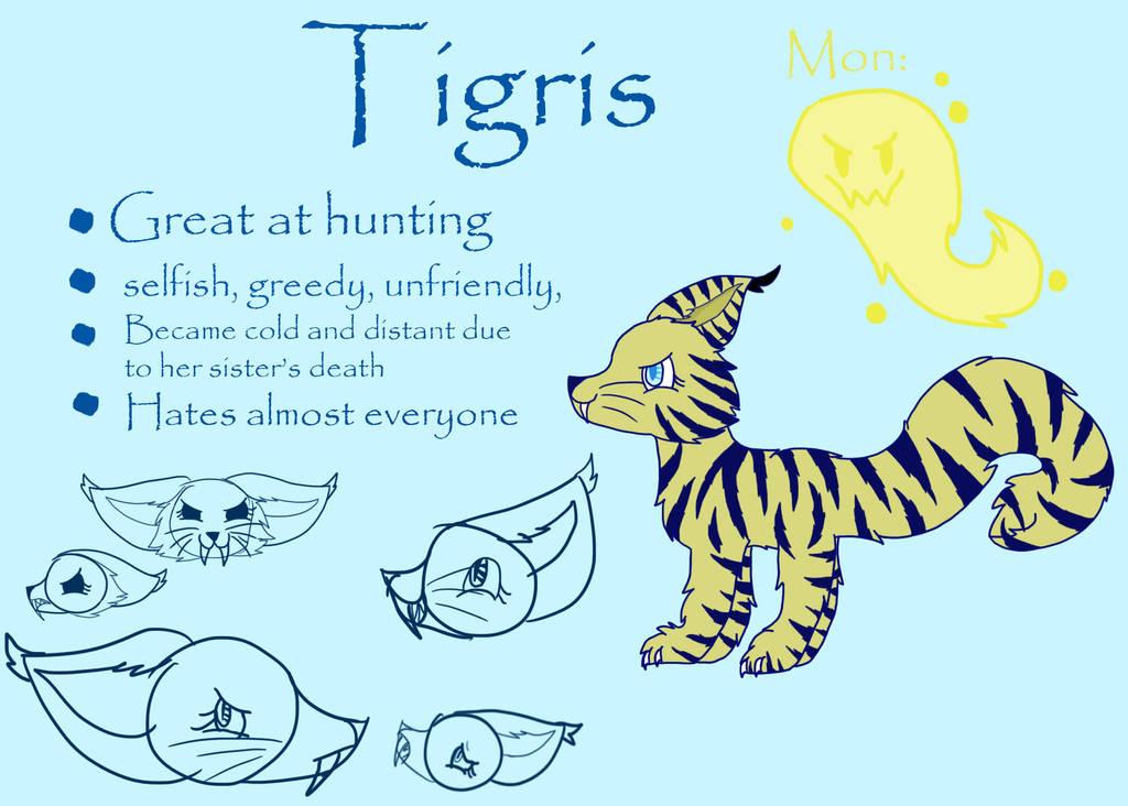 Tigris ref sheet by Kikithefox231