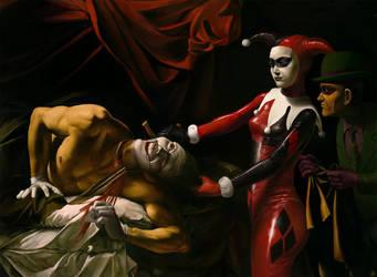 TDP Harley beheading Joker by Kamazotz