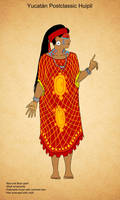 Postclassic Maya Huipil by Kamazotz