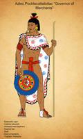 Aztec Pochtecatlailotlac by Kamazotz