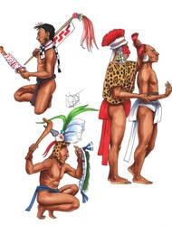 Maya Martial Arts by Kamazotz
