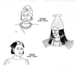 Colima studies by Kamazotz