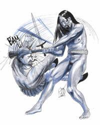 Taino war by Kamazotz