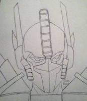 Optimus Prime by GhostFreak-Artz