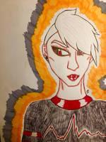 Eve Prime (Art Trade) by GhostFreak-Artz