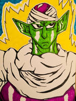 DBZ - Piccolo by GhostFreak-Artz