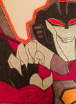 TFA StarScream by GhostFreak-Artz