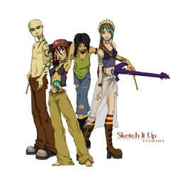 DI Characters by SketchItUpStudio