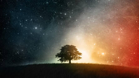 Lonesome In The Galaxy Wallpaper Hd by IguanaLover