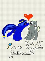 Ponysona 4 Naoto and Kanji by floraxhelia153
