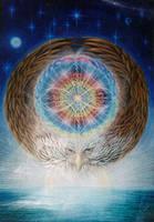 Eagle Medicine Wheel by dreamagic