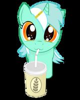 My little Lyra and big shake by negasun