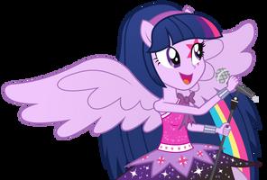 Twilight Sparkle - Equestria Girl 2 Rainbow Rocks by negasun