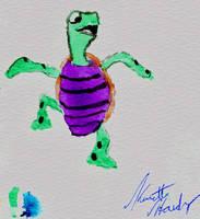 kenny turtle by dementedsquirrels