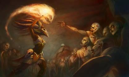 Diablo 3 Art Contest Entry by Kmalmsten