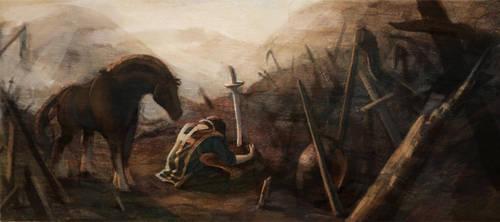 Warrior's Graveyard by Kmalmsten