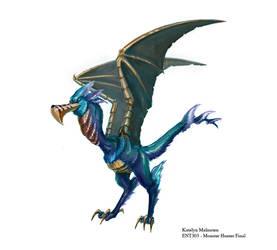 Final Bird Wyvern by Kmalmsten