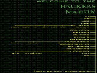 Hacker's Matrix by exarobibliologist