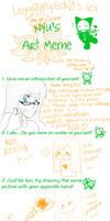Nyu's Art Meme by Legg0MyEd0