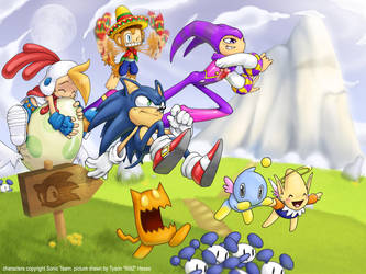 1600X1200 Sonic Team picture by tysonhesse