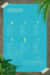 Tropica - Drink list by vlahall