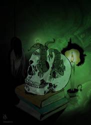 Malachite Skull (Urals Gothic Series) by Dekadansu