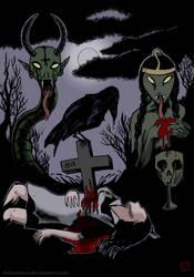 Bloody Sacrifice (Urals Gothic series) by Dekadansu