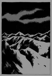 Ural Mountains by Dekadansu