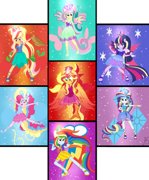 [MLPEG] Guardians of Friendship by Sparkling-Sunset-S08