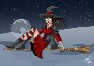 Witch by peterszebeni