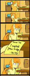 Emptied your fridge by Coin-Trip39
