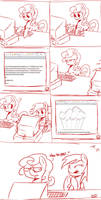 Typing with Ponies by Coin-Trip39