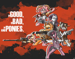 The Good, The Bad, and the Ponies by Coin-Trip39