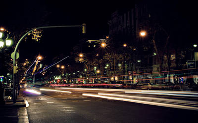 Barcelona Night by nervo86