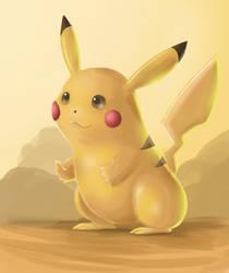 Pikachu by Green042