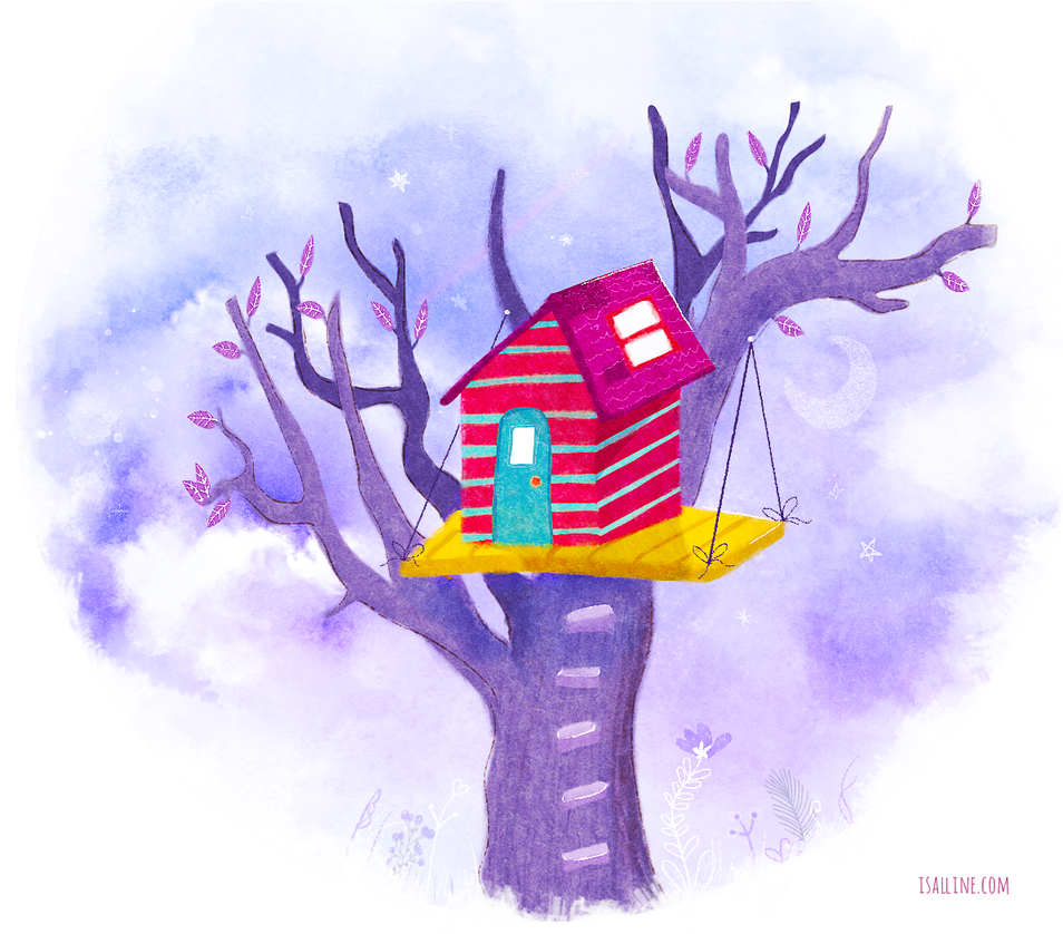 The tiny house by Isalline