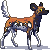 Free African wild dog icon V2 by Tirrih