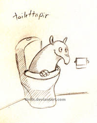 Toilettapir by Tirrih