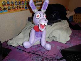 FNAF Bonnie game 1 plush by AshleyFluttershy