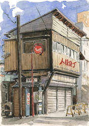 Niigata 01 - Old Building by olivier2046