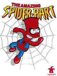 Spiderbart: the Simpsons superheroes by logolocoadv