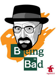 Breaking Bad: Walter White vs Heisenberg by logolocoadv