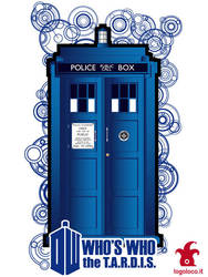 Doctor Who: Who's Who, the tardis by logolocoadv