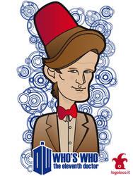 Doctor Who: Who's Who, Matt Smith by logolocoadv