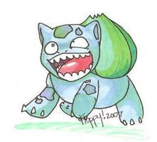 lolBulbasaur by floppyneko