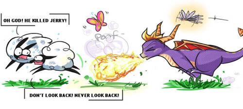 Spyro's Hobby. by floppyneko