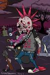 Rock zombie. by tomohiko-sato