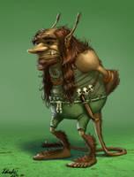 Tricky Troll by K-Bladin