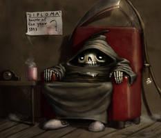 Retired Reaper by K-Bladin